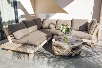 Villa Porto   Outdoor lounge area