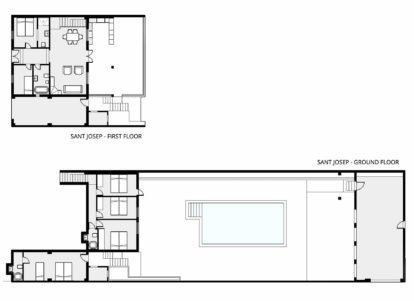 Villa Sant Josep | Floor plan
